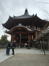 Inside Kofukuji Temple